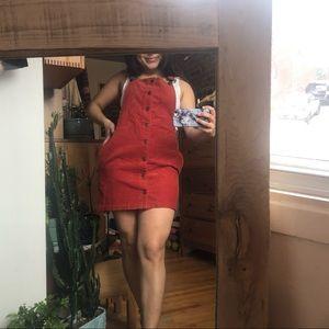 🌸 2 for $30 🌸 - FOREVER 21 overall dress